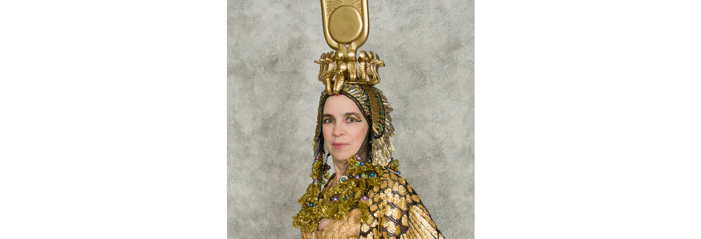 Kathe Gust as Cleopatra